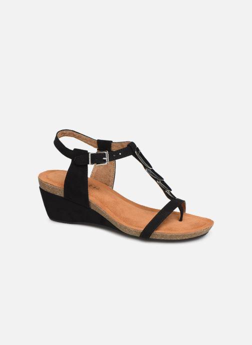 Sandales et nu-pieds Les P'tites Bombes MILA Noir vue détail/paire