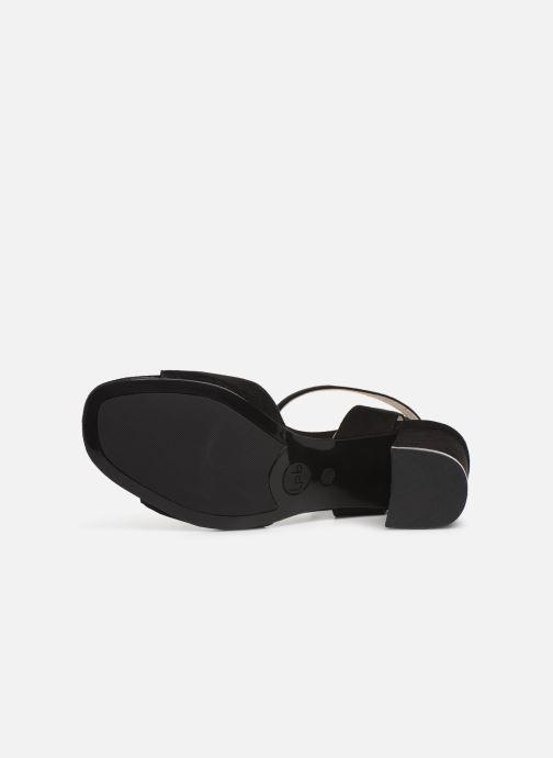 Sandales et nu-pieds Les P'tites Bombes ORNELLA Noir vue haut