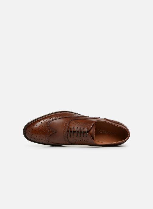 Chaussures à lacets Marvin&Co Ridal Marron vue gauche