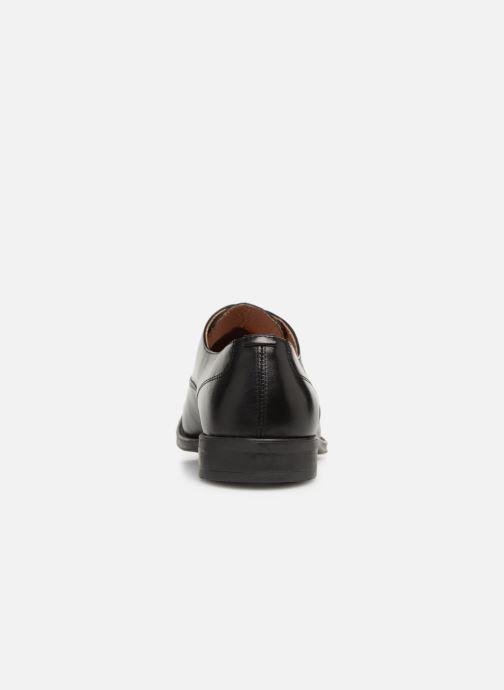 Zapatos con cordones Marvin&Co Rintown Negro vista lateral derecha