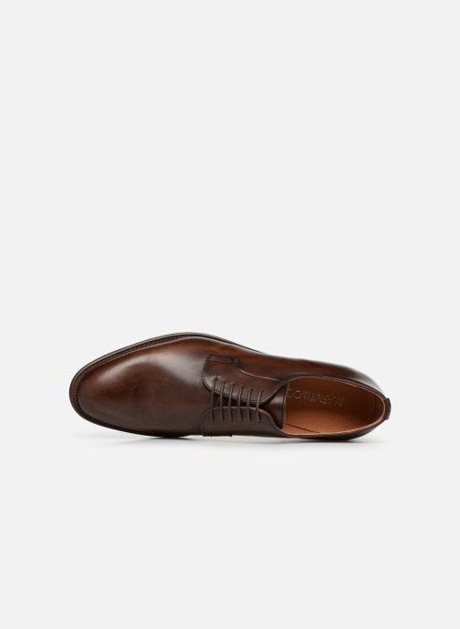 Zapatos con cordones Marvin&Co Rolintown Marrón vista lateral izquierda
