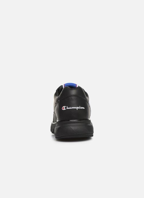 Sneakers Champion Cwa-1 Leather M Nero immagine destra