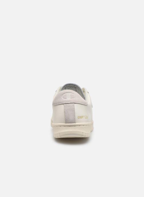 Sneakers Champion Court Club P M Wit rechts