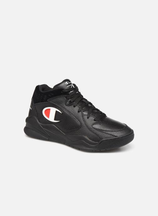 Sneakers Champion Zone Mid M Zwart detail