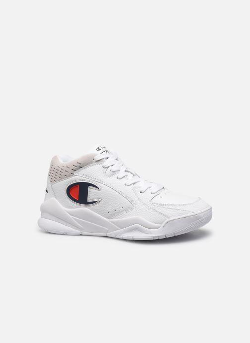 Sneakers Champion Zone Mid M Bianco immagine posteriore