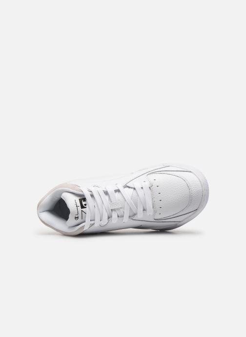 Sneakers Champion Zone Mid M Bianco immagine sinistra
