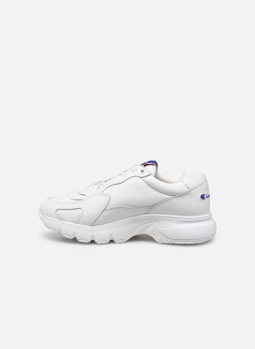 Sneakers Champion Low Cut Shoe CWA-1 Leather Bianco immagine frontale