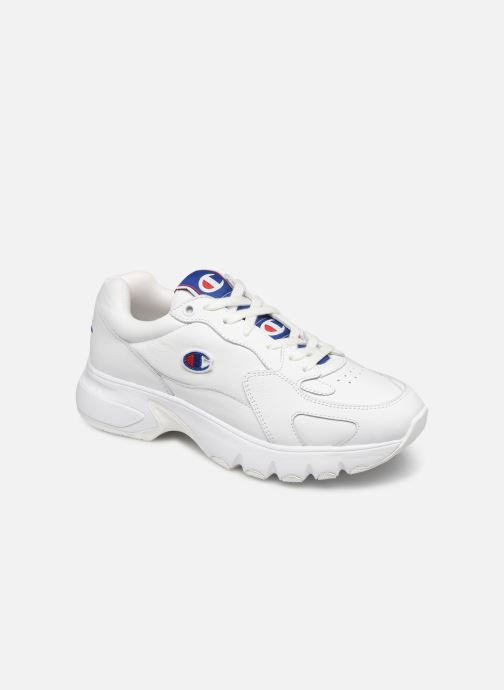 Sneakers Champion Low Cut Shoe CWA-1 Leather Wit detail