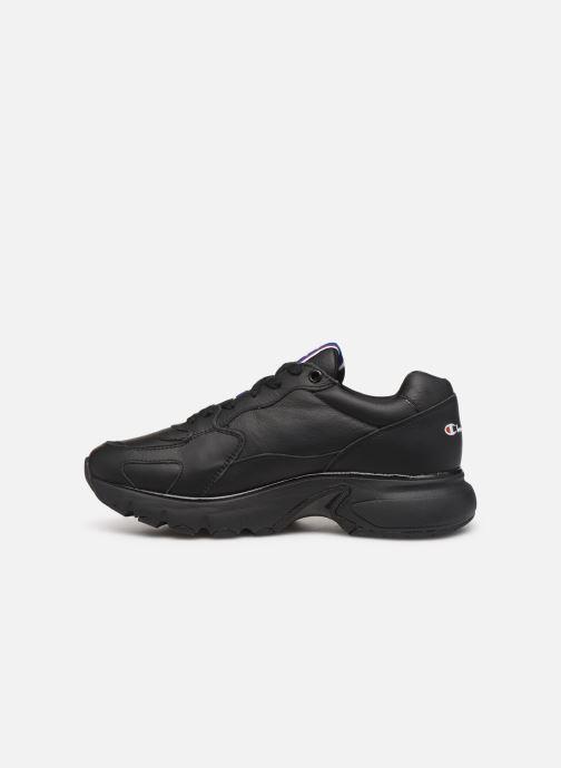 Sneakers Champion Low Cut Shoe CWA-1 Leather Zwart voorkant