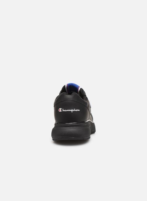 Sneakers Champion Low Cut Shoe CWA-1 Leather Zwart rechts