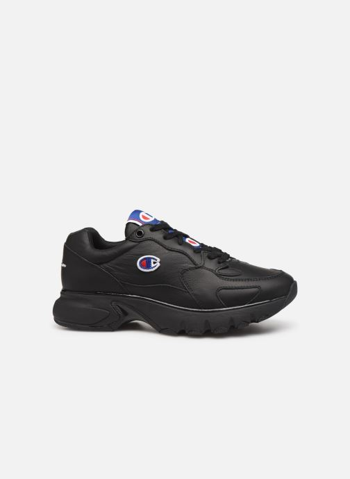 Sneakers Champion Low Cut Shoe CWA-1 Leather Zwart achterkant