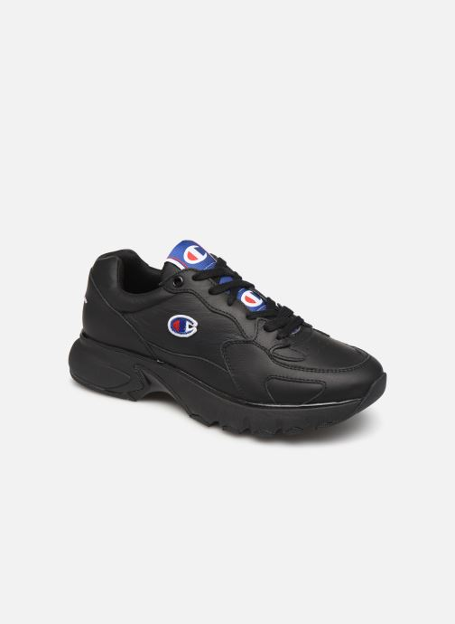 Sneakers Champion Low Cut Shoe CWA-1 Leather Zwart detail