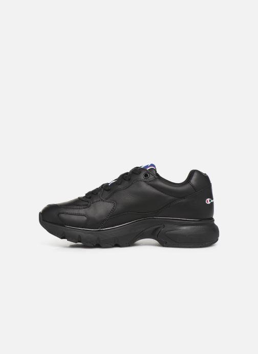 Baskets Champion Low Cut Shoe CWA-1 Leather Noir vue face