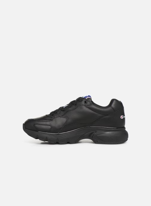 Sneakers Champion Low Cut Shoe CWA-1 Leather Nero immagine frontale