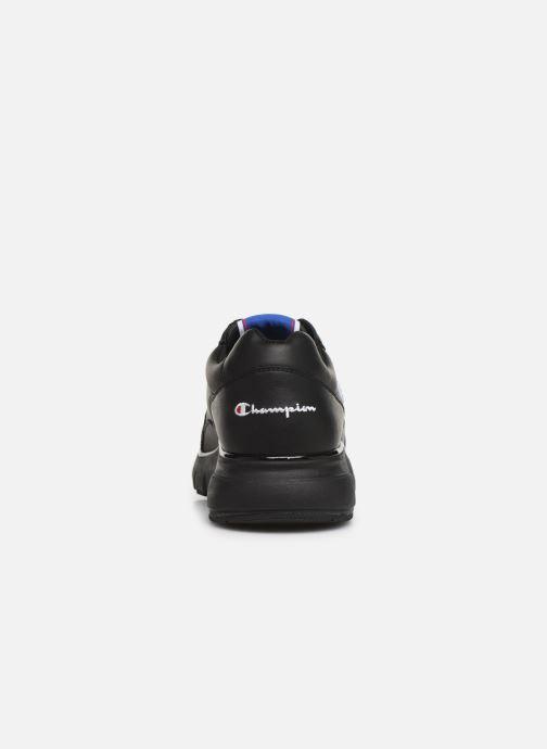 Sneakers Champion Low Cut Shoe CWA-1 Leather Nero immagine destra