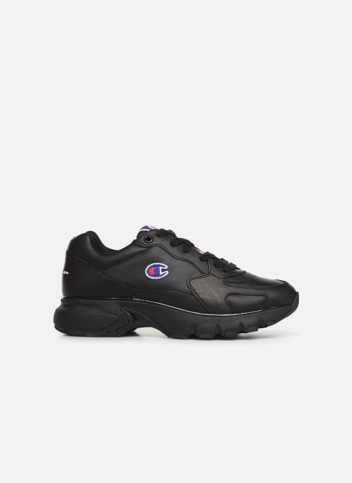 Deportivas Champion Low Cut Shoe CWA-1 Leather Negro vistra trasera