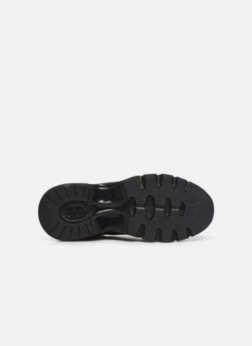 Sneakers Champion Low Cut Shoe CWA-1 Leather Nero immagine dall'alto