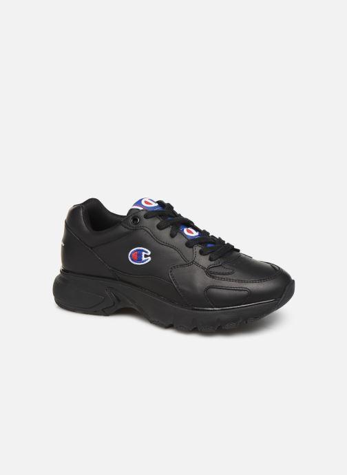 Baskets Champion Low Cut Shoe CWA-1 Leather Noir vue détail/paire