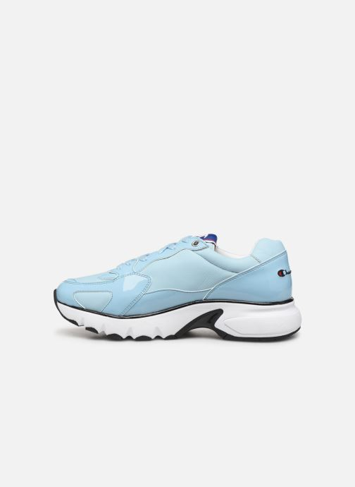Trainers Champion Cwa-1 Patent Blue front view