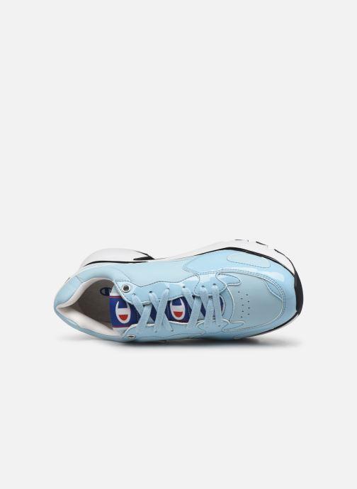 Sneakers Champion Cwa-1 Patent Azzurro immagine sinistra