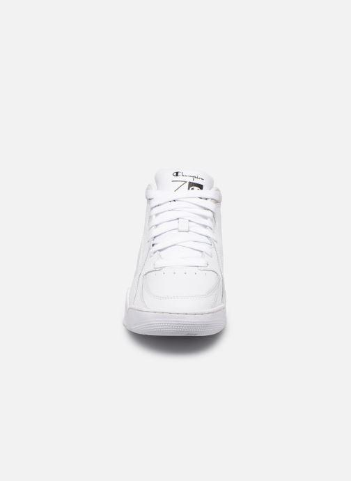 Sneaker Champion Zone Mid W weiß schuhe getragen