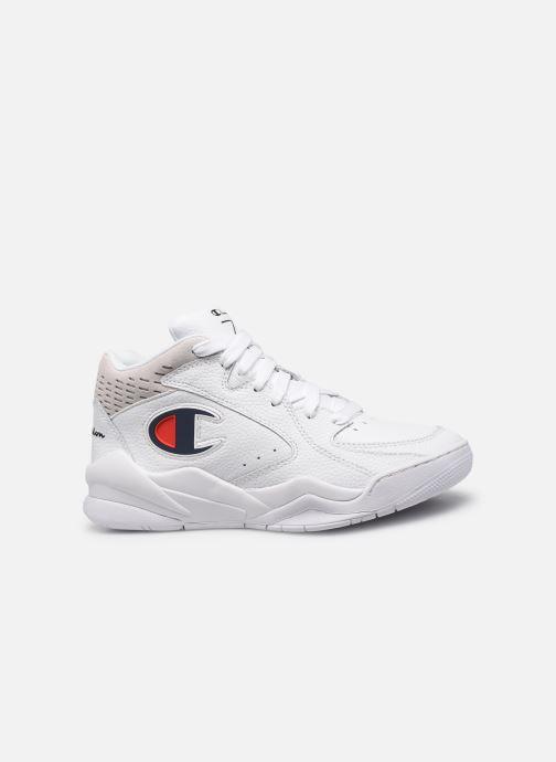 Sneaker Champion Zone Mid W weiß ansicht von hinten