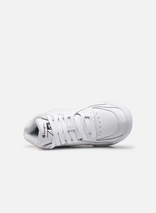 Sneaker Champion Zone Mid W weiß ansicht von links