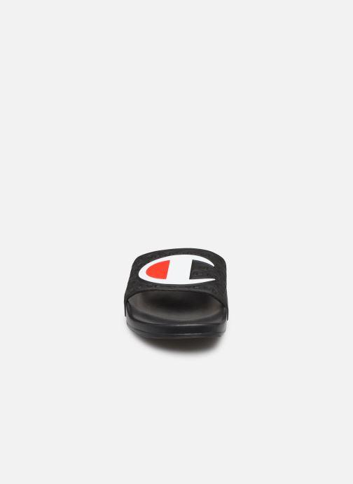 Chaussures de sport Champion Slide Multi-Lido W Noir vue portées chaussures