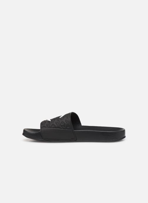 Chaussures de sport Champion Slide Multi-Lido W Noir vue face