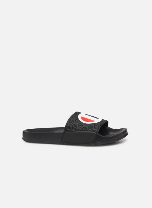 Chaussures de sport Champion Slide Multi-Lido W Noir vue derrière