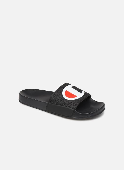 Chaussures de sport Champion Slide Multi-Lido W Noir vue détail/paire