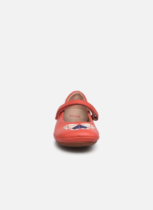 Ballerines Camper TWS 800266 Rose vue portées chaussures