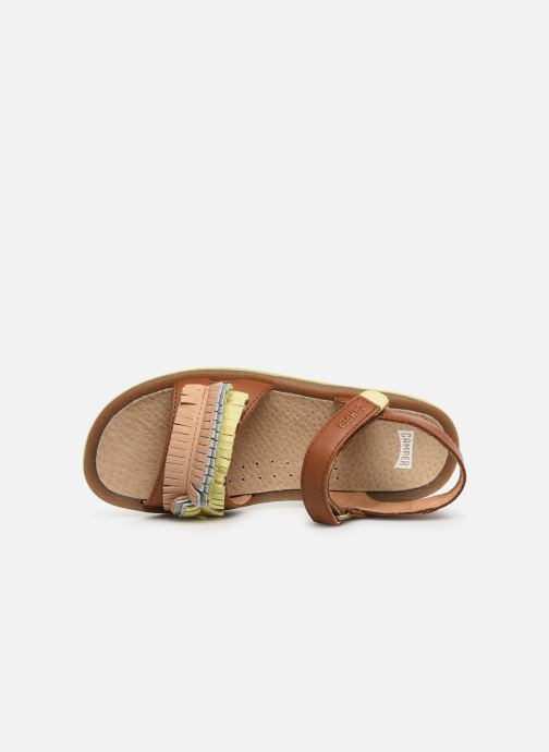 Sandals Camper TWS 800306 Brown view from the left