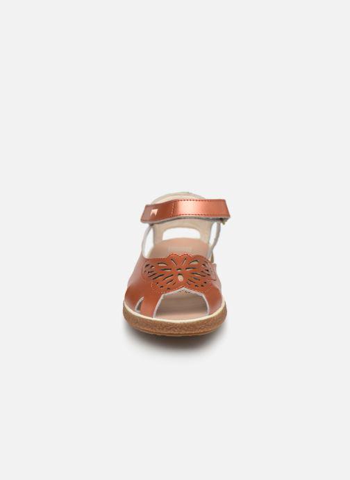 Sandales et nu-pieds Camper TWS 800300 Rose vue portées chaussures