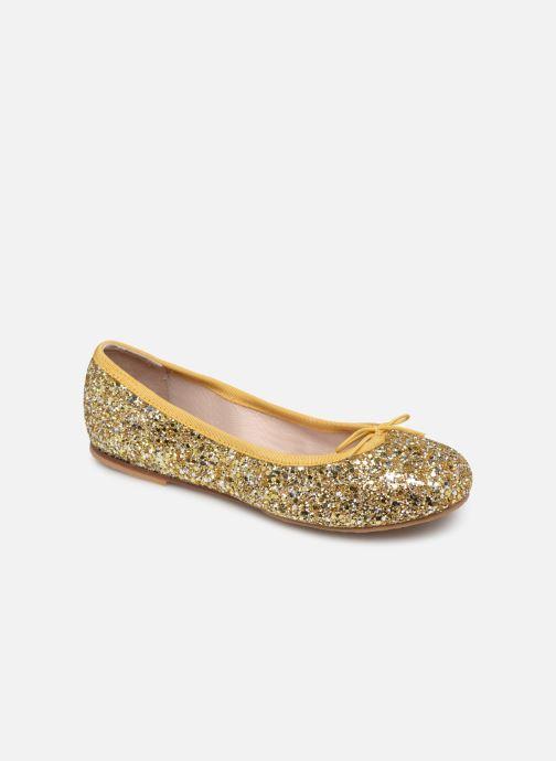 Ballerines Bloch Girls Sparkles C Or et bronze vue détail/paire