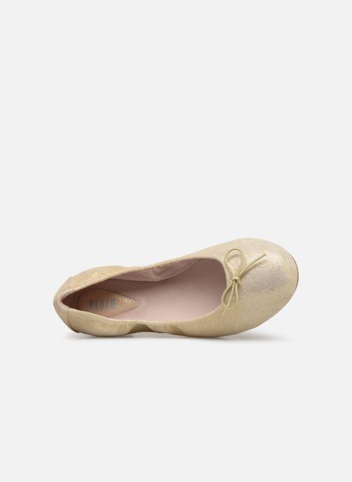 Ballerines Bloch Sirenetta C Or et bronze vue gauche