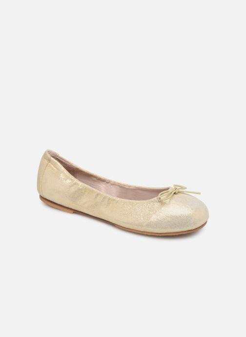 Ballerines Bloch Sirenetta C Or et bronze vue détail/paire