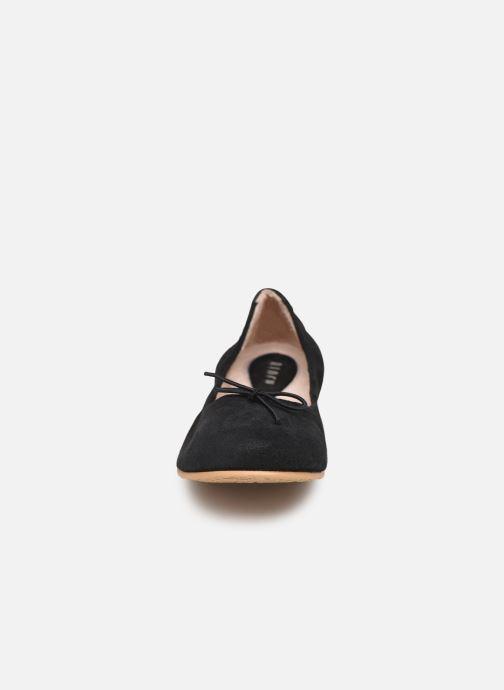 Ballerinas Bloch Sirenetta C schwarz schuhe getragen