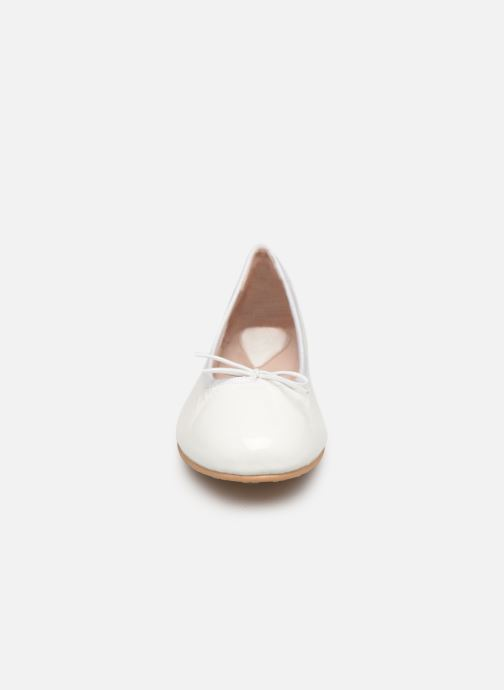 Ballet pumps Bloch Girls Chacha C White model view