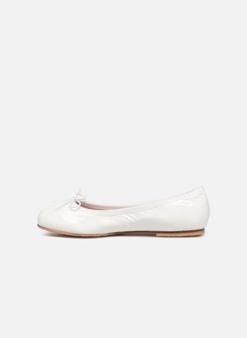 Ballet pumps Bloch Girls Chacha C White front view