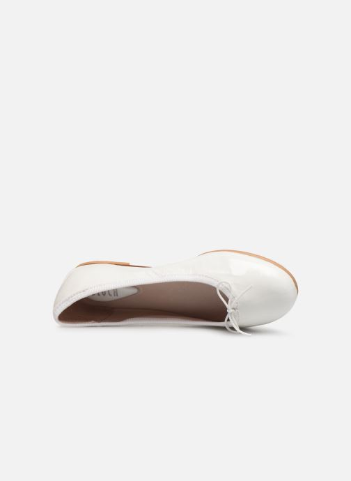 Ballet pumps Bloch Girls Chacha C White view from the left
