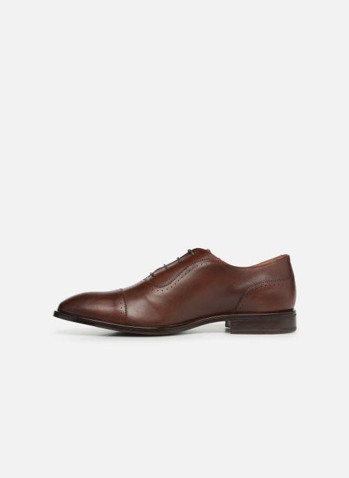 Zapatos con cordones Marvin&Co Ritello Marrón vista de frente