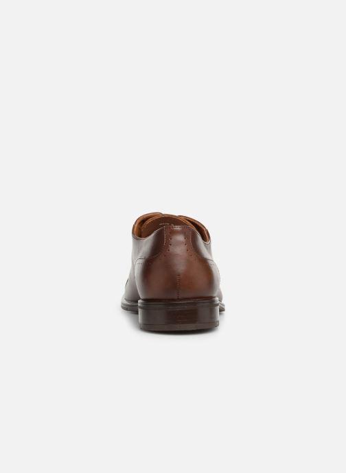 Zapatos con cordones Marvin&Co Ritello Marrón vista lateral derecha