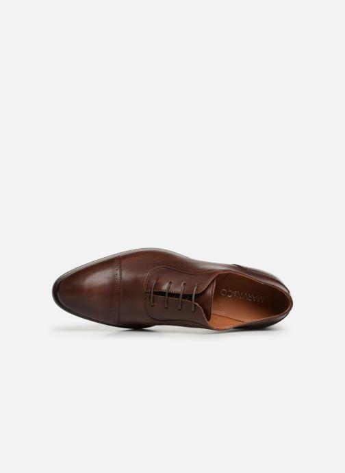 Zapatos con cordones Marvin&Co Ritello Marrón vista lateral izquierda