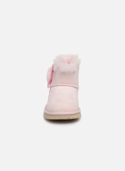 Stiefel UGG K Mini Bailey II Cactus Flower rosa schuhe getragen