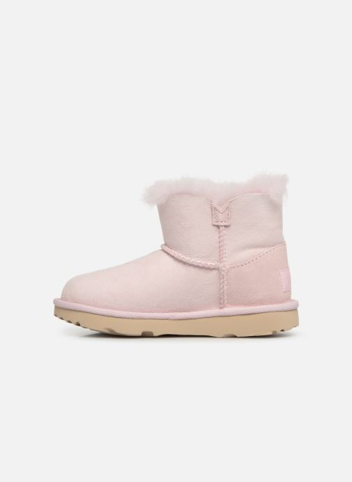 Botas UGG K Mini Bailey II Cactus Flower Rosa vista de frente