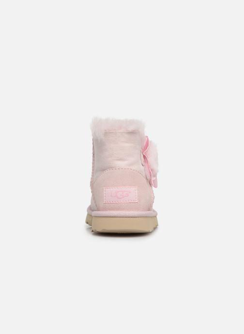 Støvler & gummistøvler UGG K Mini Bailey II Cactus Flower Pink Se fra højre