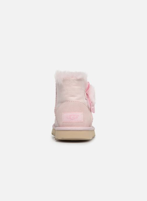 Bottes UGG K Mini Bailey II Cactus Flower Rose vue droite