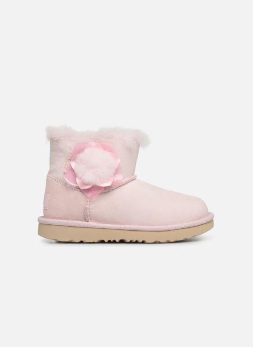 Støvler & gummistøvler UGG K Mini Bailey II Cactus Flower Pink se bagfra