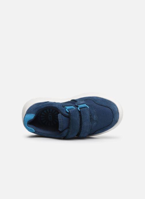Baskets UGG Tygo Sneaker K Bleu vue gauche